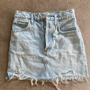 Agolde Jean Skirt Size 23